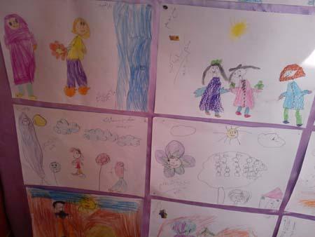 نقاشی مربوط به روز معلم